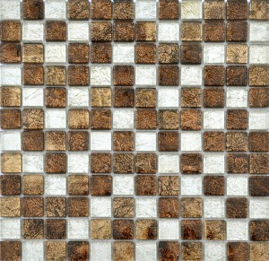 CERAMICA PICASA Mosaic Brown Chilli Mix 4,8x4,8