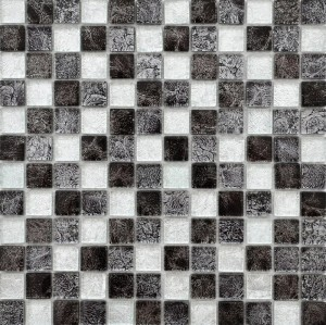 CERAMICA PICASA Mosaic Black Chilli Mix 4,8x4,8
